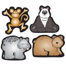 Zoo Friends Shape Sticker (Set of 3)
