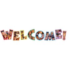 Photographic Welcome Letters