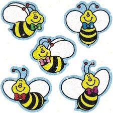 Dazzle Bees Sticker