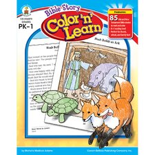 Bible Story Color N Learn