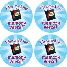 I Learned My Memory Verse Sticker