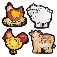 Farm Friends Shape Sticker (Set of 3)