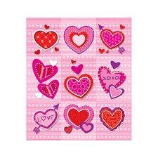 Valentines Prize Sticker (Set of 4)