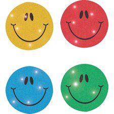 Dazzle Seals Smiley Sticker (Set of 3)