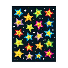 Stars Shape Sticker