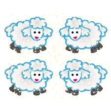 Dazzle Lambs Sticker (Set of 3)