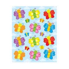 Butterflies Shape Sticker