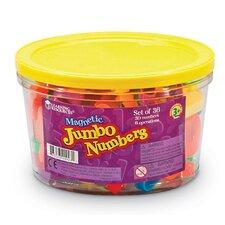 36 Piece Jumbo Magnetic Numbers Set