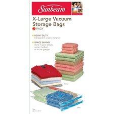 Plastic 2 Piece Vacuum Bag Set (Set of 2)