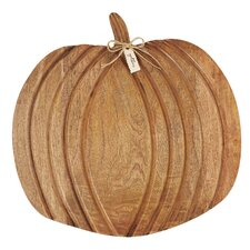 Pumpkin Wood Cheese Serving Cheese Board