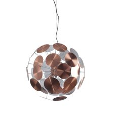 Plenty Work 1 Light Globe Pendant