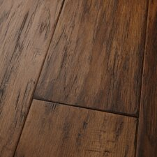 "Mountain View 5"" Engineered Hickory Hardwood Flooring in Bark"