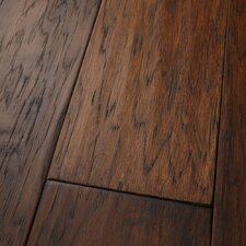 "Mountain View 5"" Engineered Hickory Hardwood Flooring in Fawn"