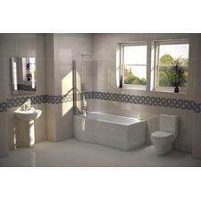 P Shape Bath Suite