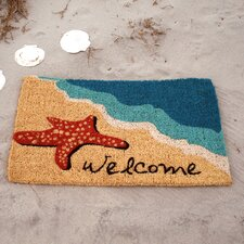 Juney Starfish Welcome Doormat