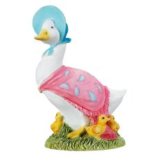Jemima Puddle Duck with Ducklings Figure