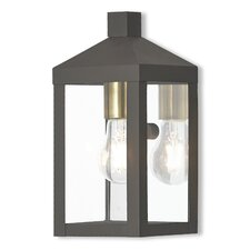 Abbas 1-Light Outdoor Wall Lantern