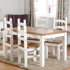 Essgruppe Angelina mit 4 Stühlen