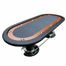 """96"""" Professional Solid Double Base Poker Table"""