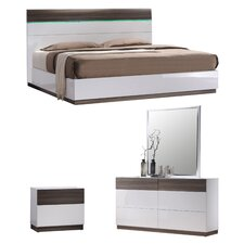 Elida  B Platform Customizable Bedroom Set