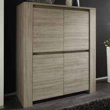 Elisa 4 Door Storage Cabinet