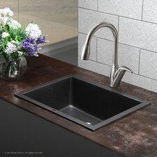 """Granite 24"""" x 18"""" Undermount Kitchen Sink"""
