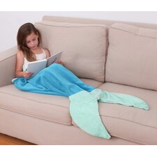Allyson Mermaid Shaped Kids Throw