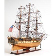 Constitution Copper Bottom E.E Model Ship