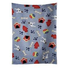Dog House Toy Fox Terrier Dishcloth