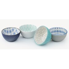 Michal 4 Piece Dining Bowl Set