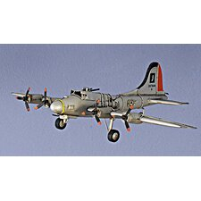 Green B-17 Flying Fortress Airplane Model