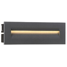 Outdoor In-Wall 1 Light LED Deck, Step, or Rail Light