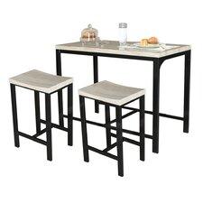 Biron 3 Piece Dining Set