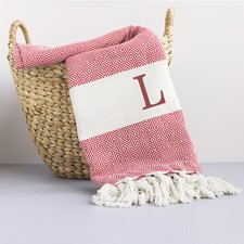 Personalized Turkish Cotton Throw