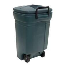 Rubbermaid Wheeled 45 Gallon Trash Can
