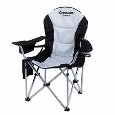 Amitee Lumbar Support Lightweight Portable Heavy Duty Folding Deluxe Camping Chair