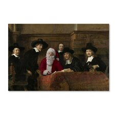 The Syndics of the Cloth Merchants' Print on Wrapped Canvas