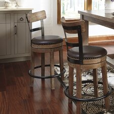 "Empire 24.25"" Swivel Bar Stool (Set of 2)"