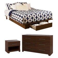 Primo Platform Customizable Bedroom Set