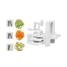 Kitchen Details Spiral 3 in 1 Vegetable Slicer