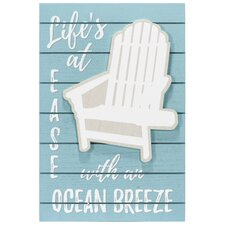 Vertical Life's At Ease Adirondack Wall Décor