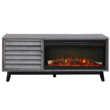 "Williamstown 62"" TV Stand with Electric Fireplace"