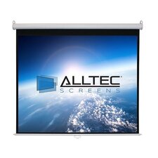 White Manual Projection Screen