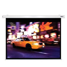 Matte White Electric Projector Screen