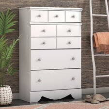 Carrabassett 5 Drawer Chest