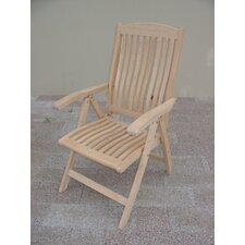 Roble Folding Dining Arm Chair