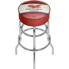 Pure Oil Vintage Swivel Bar Stool