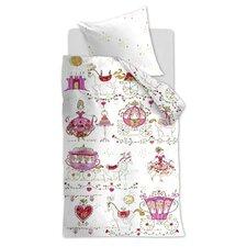 Kinderbettwäsche-Set Princess Carriages