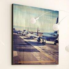 Transportation Taking Flight Graphic Art