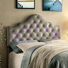 Artemis Contemporary Upholstered Panel Headboard